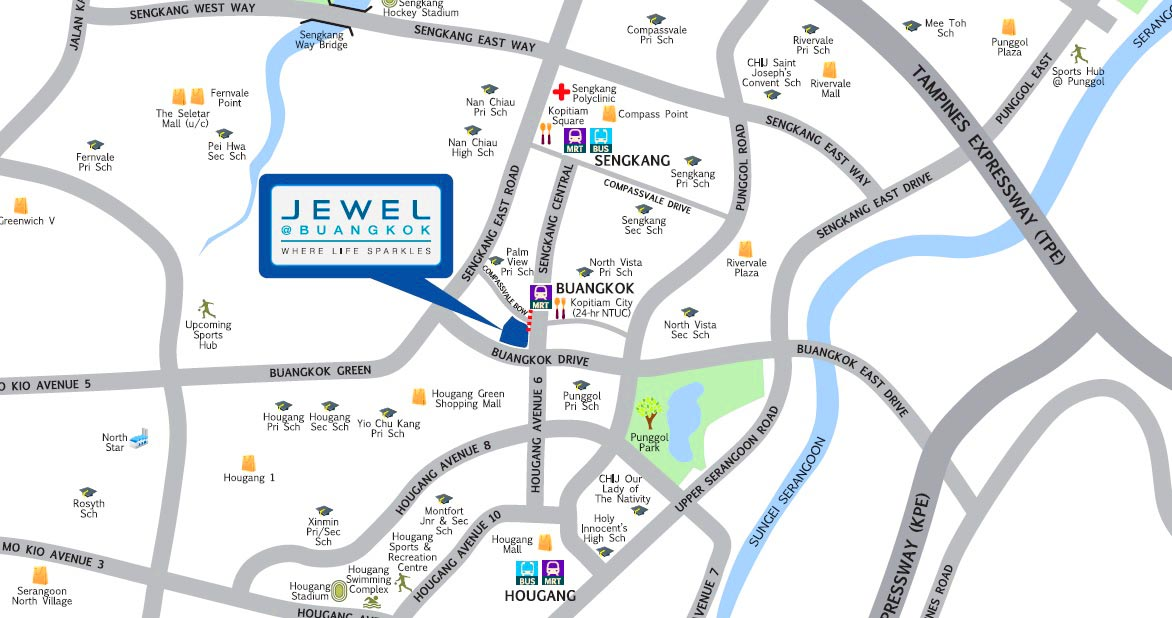 Jewel-at-Buangkok-Map
